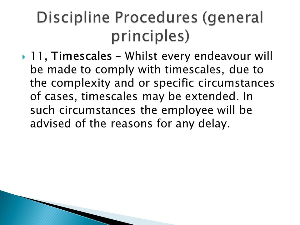  11, Timescales - Whilst every endeavour will be made to comply with timescales, due to the complexity and or specific circumstances of cases, timesc