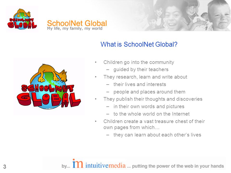 3 What is SchoolNet Global.