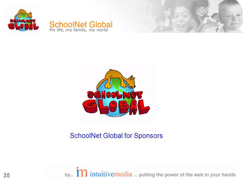 35 SchoolNet Global for Sponsors