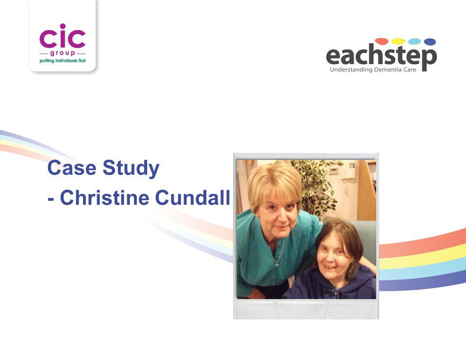 Case Study - Christine Cundall