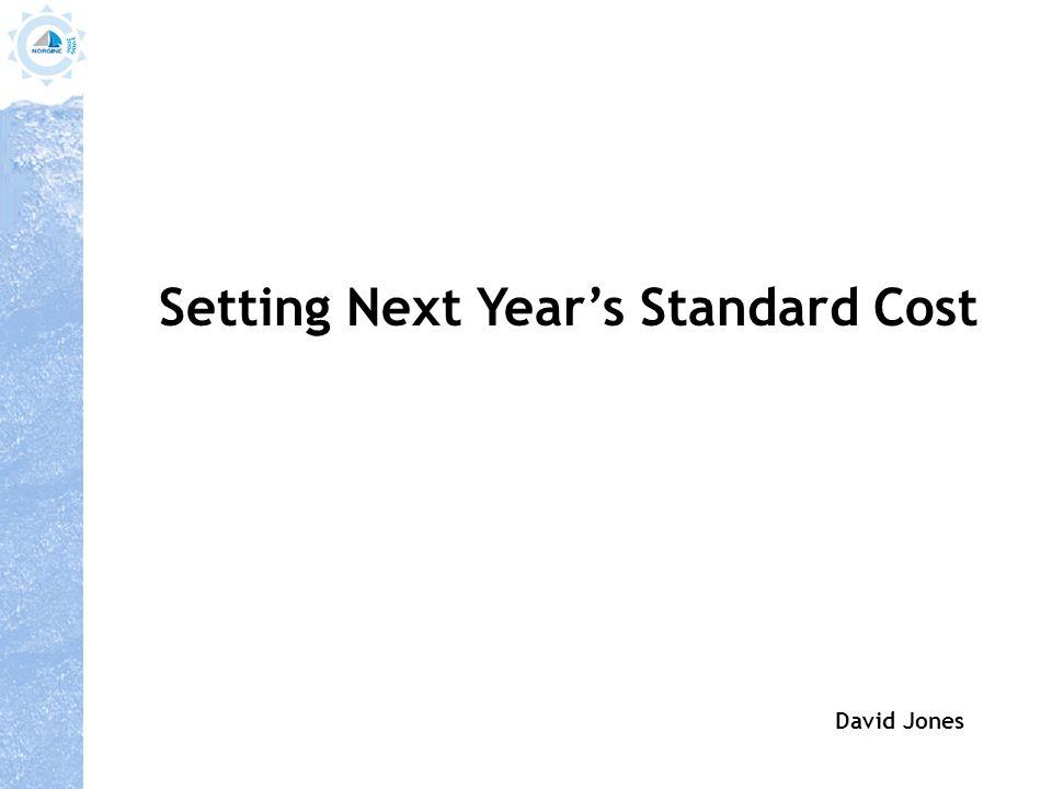 ` Budget Year N Std Cost Year N -ve variance vs.Std cost +ve variance vs.Std cost €10 €8 Budget Year N+1 3.