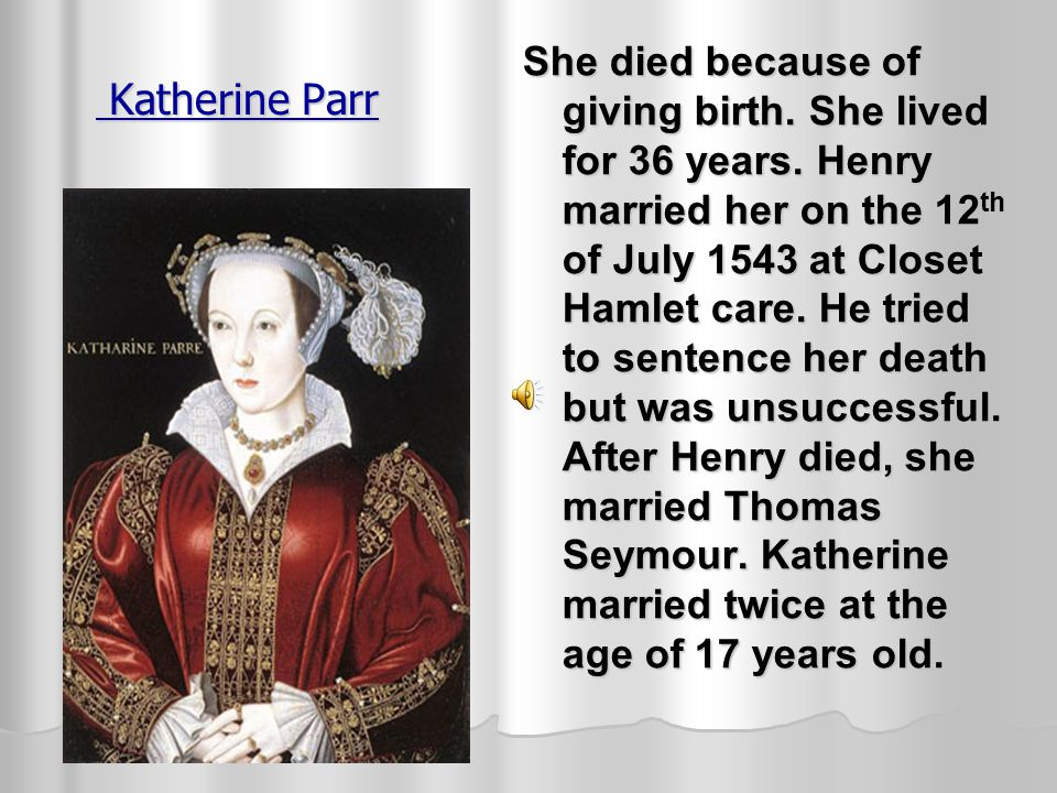 Katherine Howard He wanted to marry someone who would be faithful. He beheaded her because she had a affair with Culpepper her cousin. She was accused