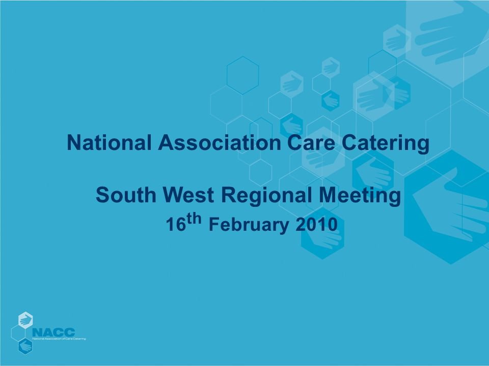 Agenda from National Executive Feb 4 th 2010 Minutes of last meeting Matters arising Chairman's Report Deputy Chair's Report CMOW Summit Future Structure Treasurer's Report Conference –Cakes and baking competition Admin update/presentation Working Party Updates NACC Guidelines AOB Next Meeting