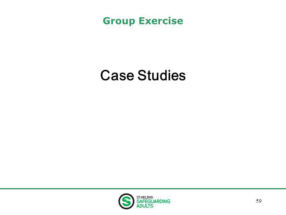 January 201359 Group Exercise Case Studies