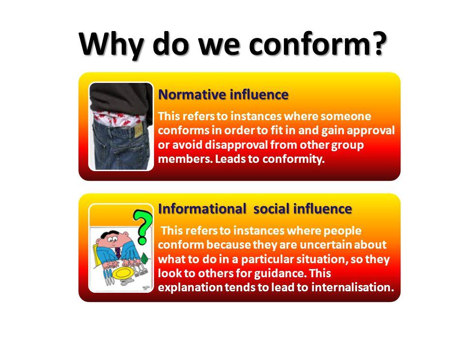 Why do we conform.