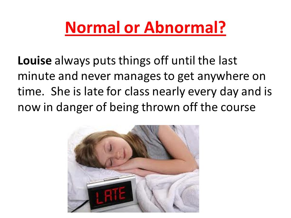 Normal or Abnormal.