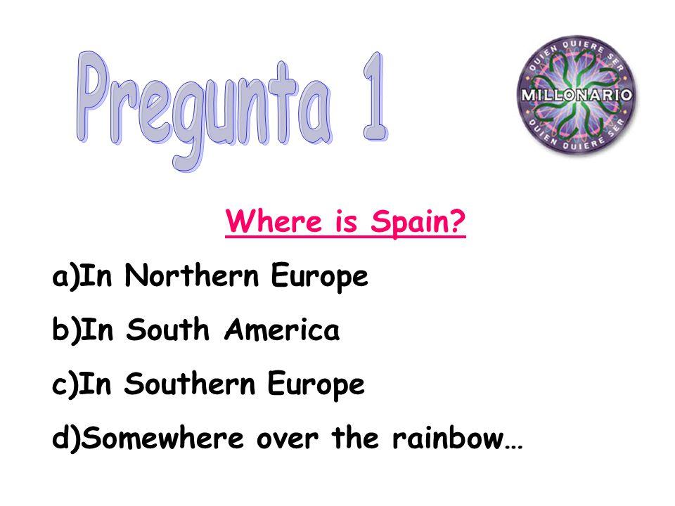 Where is Spain.