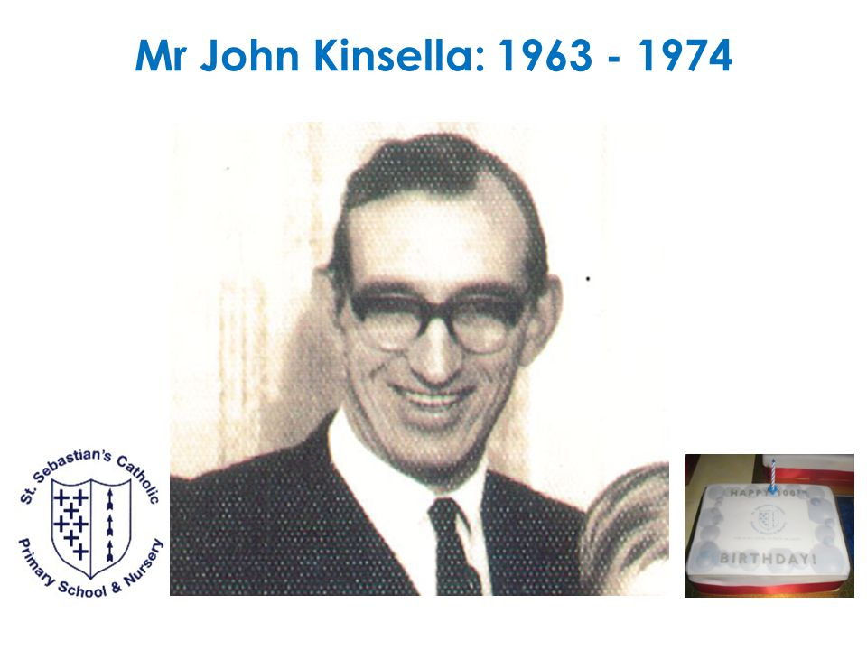 1969 - 1979 Mr Peter Tipping took up his appointment at the school today. (7 Jan 1970) Miss McGuinness (Mrs Buckley) took up duties in Grade 1 (6 Sept 1972) Mr Kinsella died in hospital on Easter Sunday (14 April 1974).