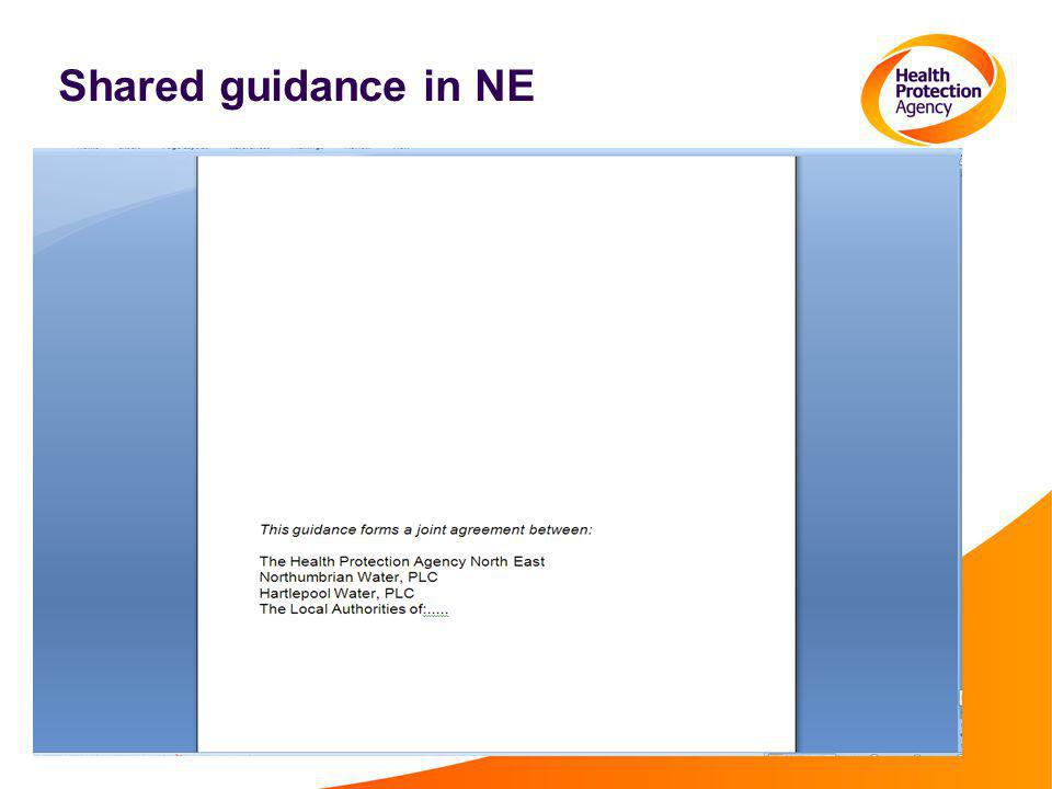 Shared guidance in NE