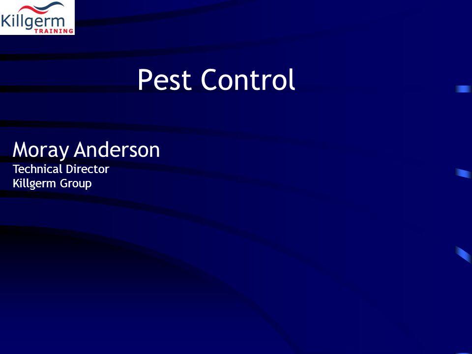 Pest Control Moray Anderson Technical Director Killgerm Group