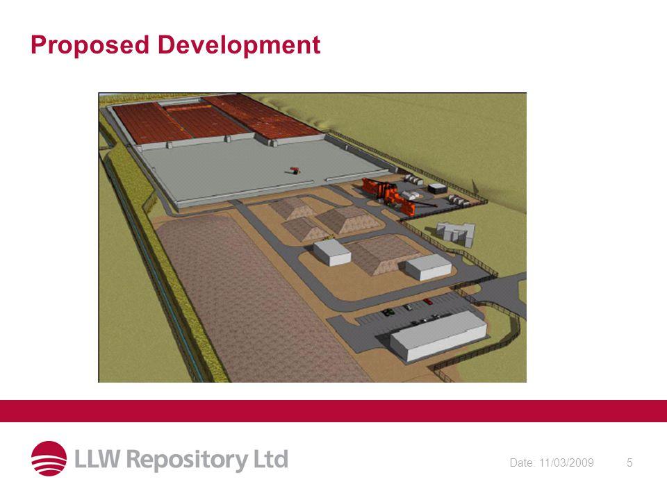 Date: 11/03/20095 Proposed Development