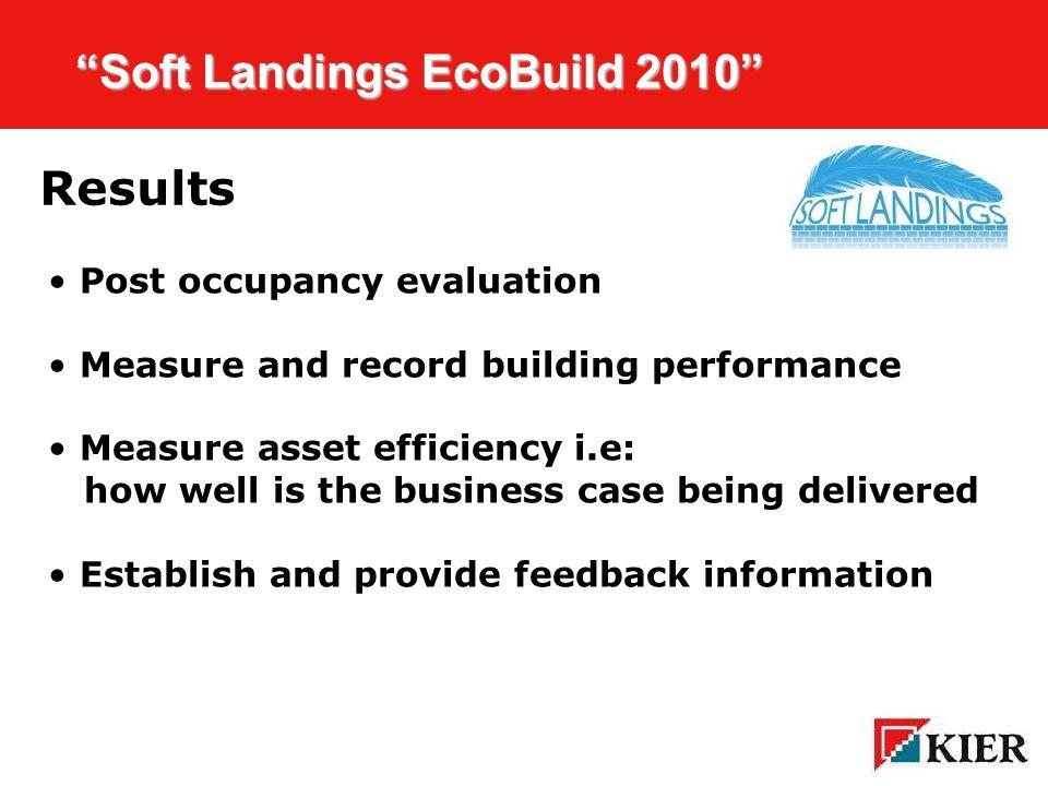 Click to edit Master title style Soft Landings EcoBuild 2010 Soft Landings EcoBuild 2010 National Trust Building Swindon