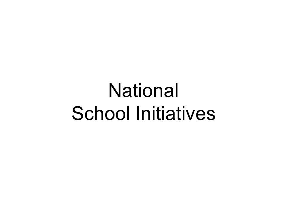 National School Initiatives
