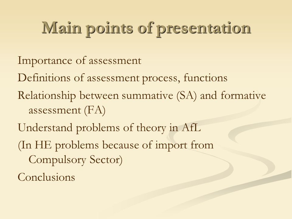 Theory of FA, SA + ssa Taras uses Scriven SA + FA + Sadler FA Plus - assessment and feedback MUST be negotiated for understanding and take-up by learner – therefore self-assessment mandatory SA + feedback negotiated, decided + used by learner = FA