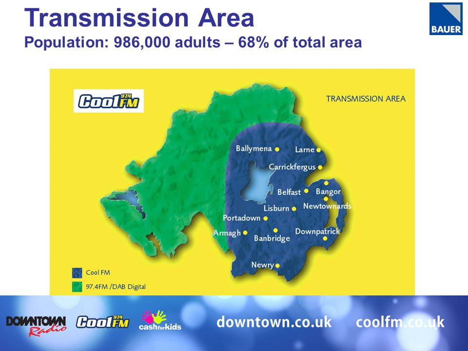 Transmission Area Population: 986,000 adults – 68% of total area