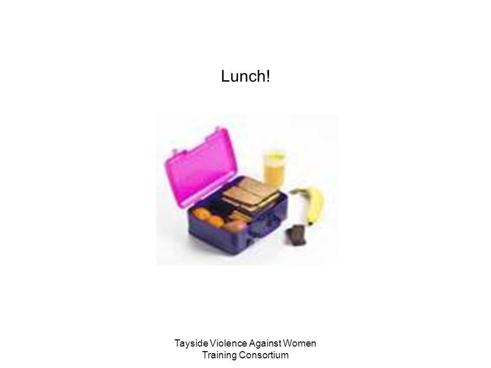 Tayside Violence Against Women Training Consortium Lunch!