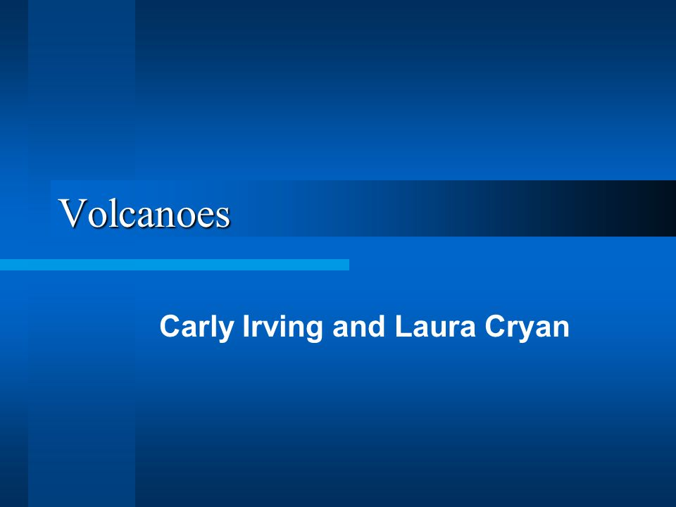 Volcanoes Carly Irving and Laura Cryan