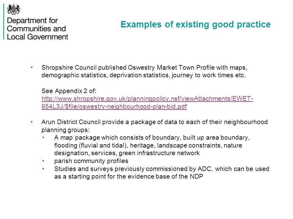 Examples of existing good practice linkeddata.hants.gov.uk