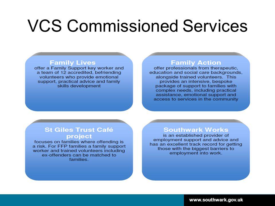 www.southwark.gov.uk VCS Commissioned Services