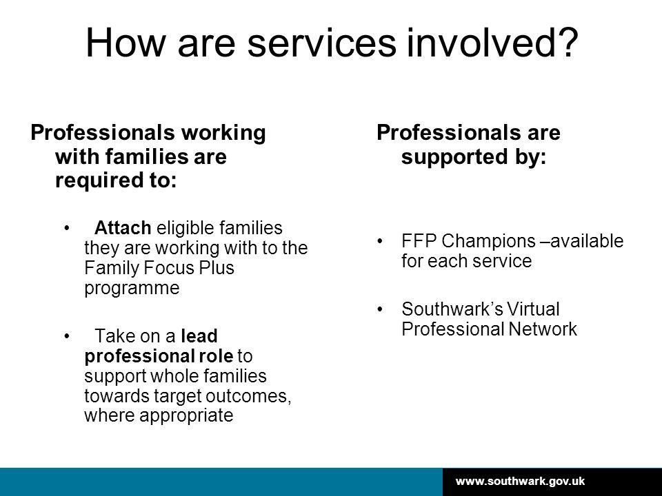 www.southwark.gov.uk Why attach a family.