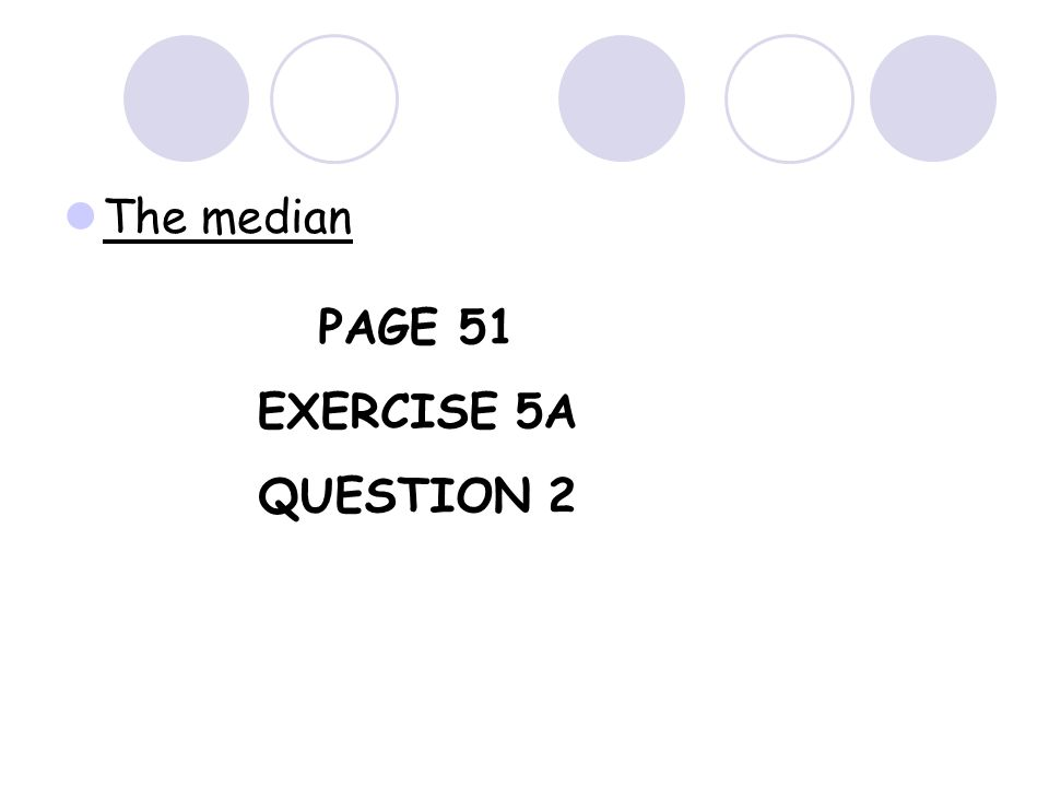 What is the median test score for the following set of results? 5, 7, 7, 8, 10, 12, 14, 15 For an even number of values in a data set, there are two m