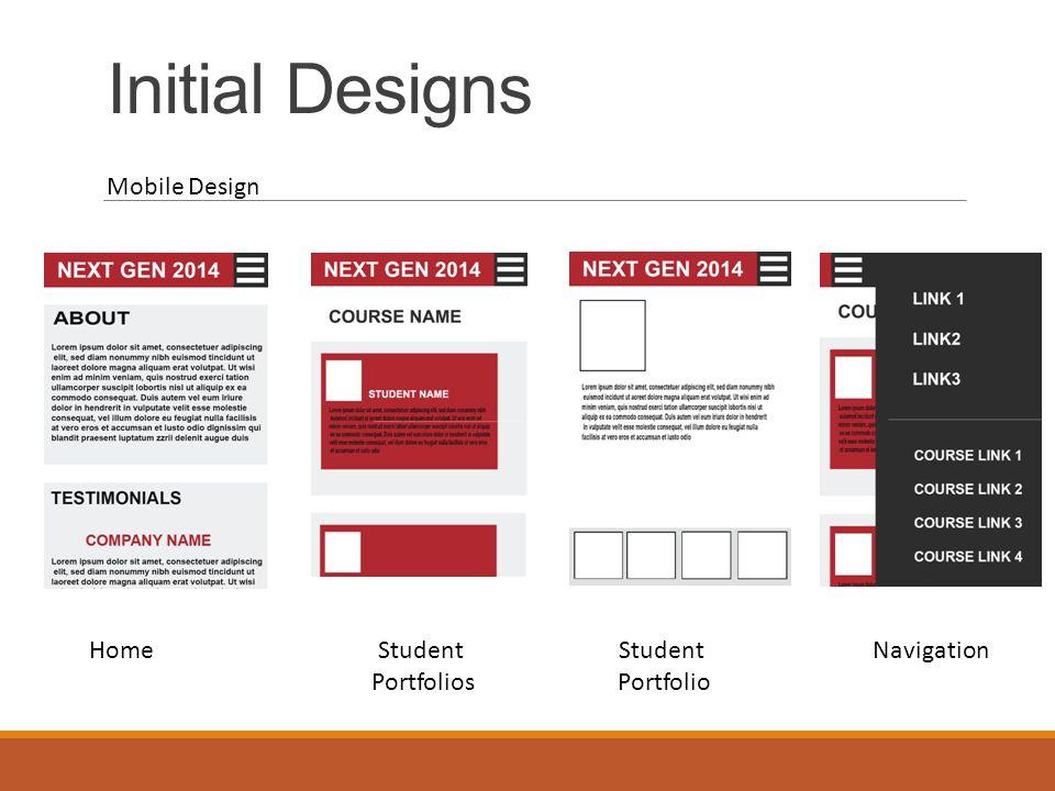 Development From designs to development Professional feel.