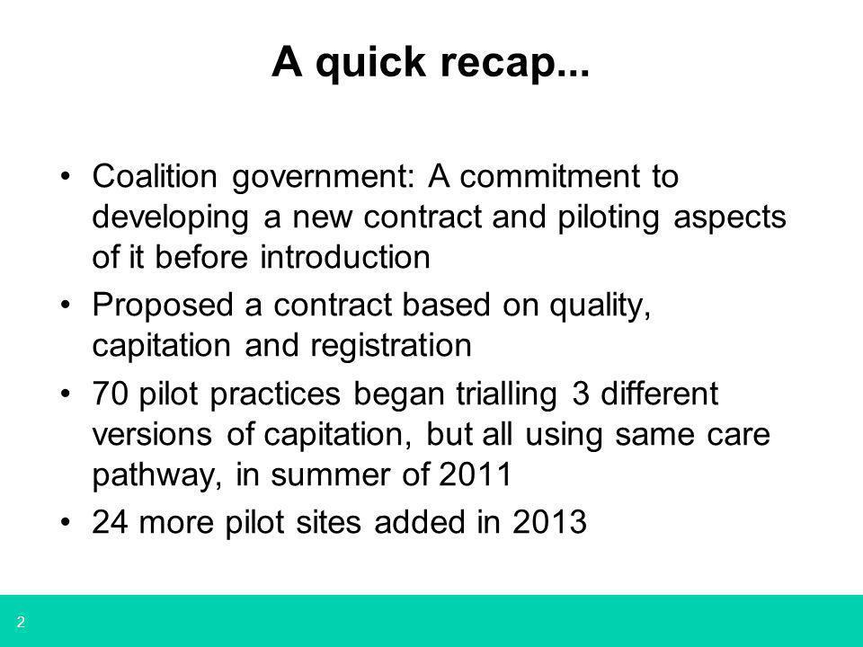 3 Learning from the Pilots First report was published in October 2012: https://www.gov.uk/government/uploads/syste m/uploads/attachment_data/file/212999/NHS- dental-contract-pilots-early-findings.pdf Second Evidence and learning Group Report published on 7 February: https://www.gov.uk/government/publications/dental- contract-pilots-evidence-and-learning https://www.gov.uk/government/publications/dental- contract-pilots-evidence-and-learning