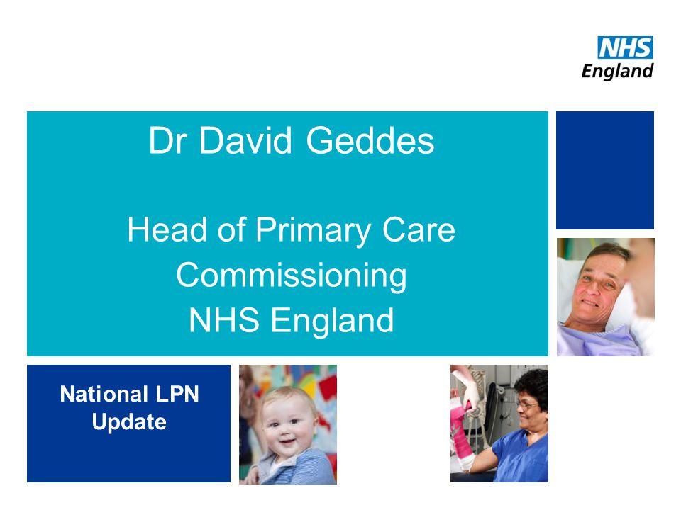 National priorities and LEHN focus LPN CCGLA Health and Wellbeing Board