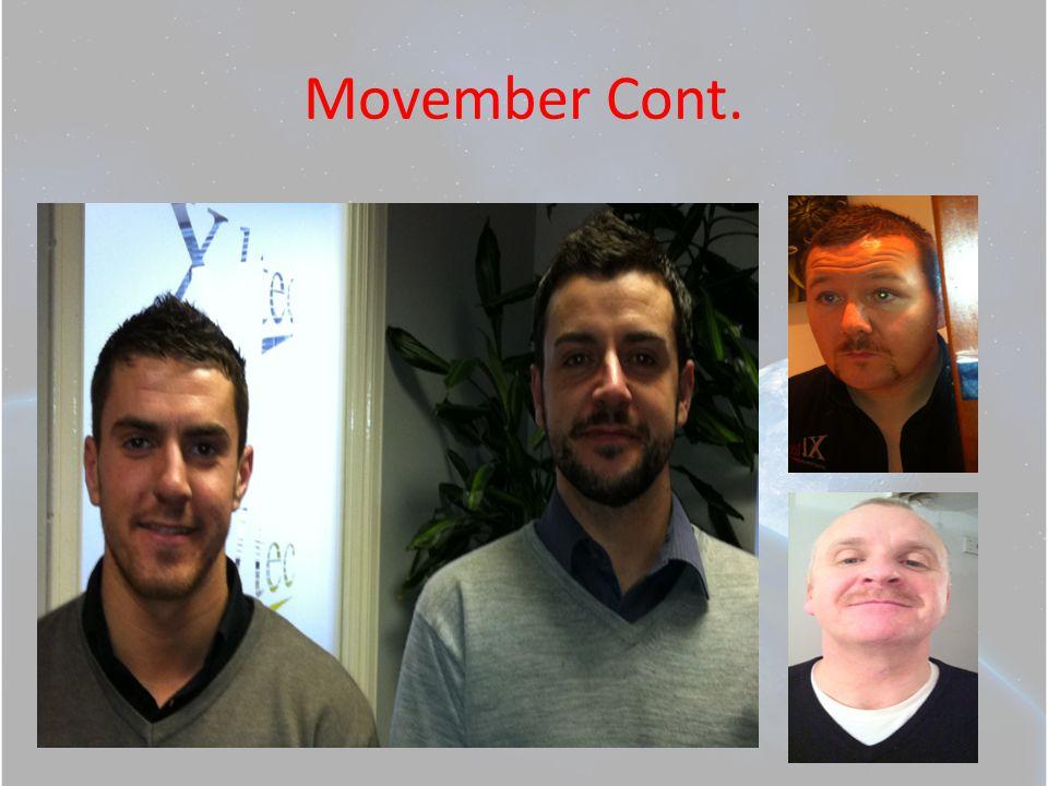 Movember Cont.