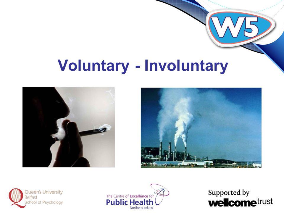 Voluntary - Involuntary