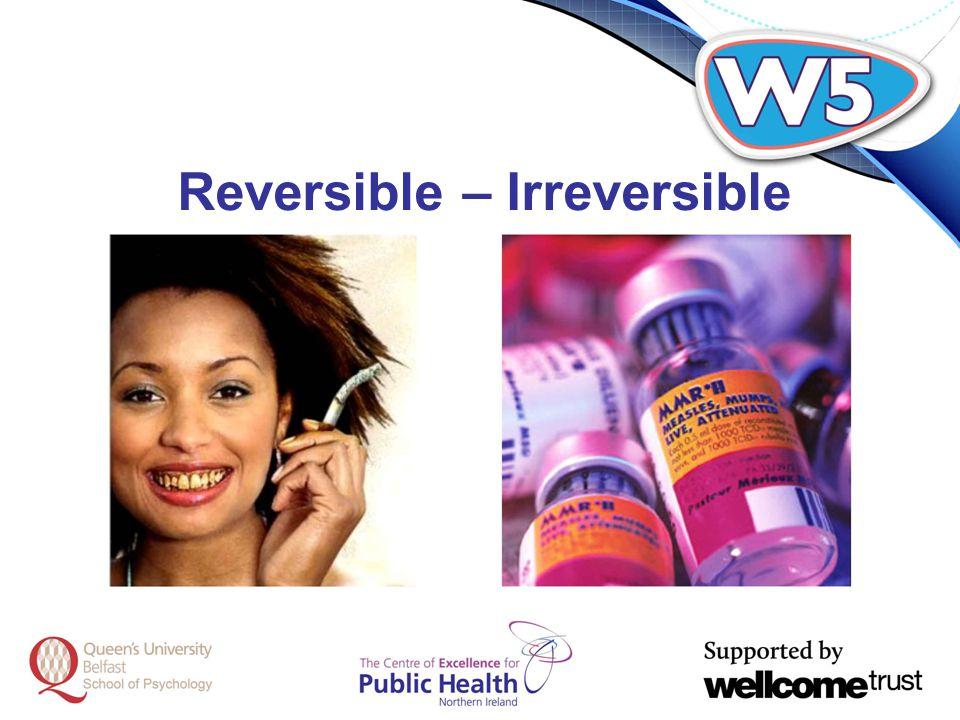 Reversible – Irreversible