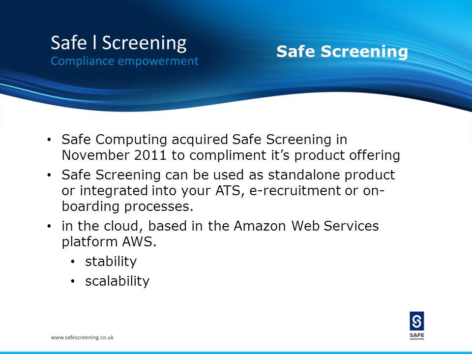 Pre- employment Screening Online Data Compliance Convergence...