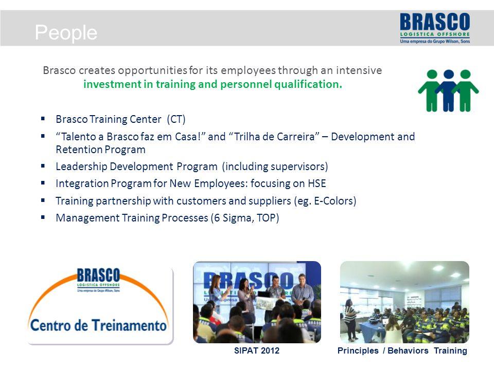 """ Brasco Training Center (CT)  """"Talento a Brasco faz em Casa!"""" and """"Trilha de Carreira"""" – Development and Retention Program  Leadership Development"""