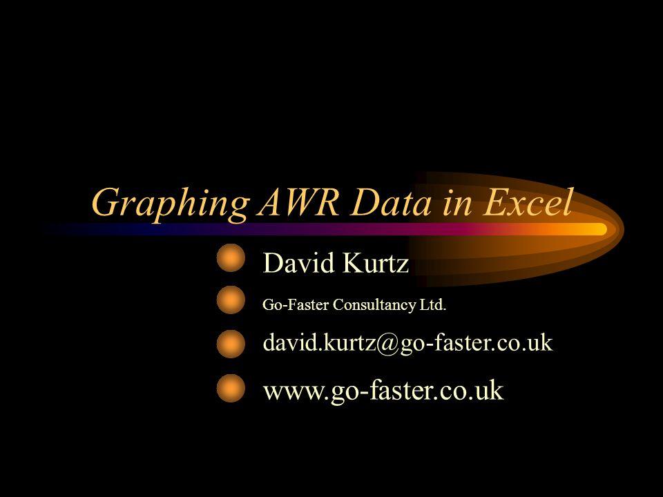 Graphing AWR Data in Excel David Kurtz Go-Faster Consultancy Ltd. david.kurtz@go-faster.co.uk www.go-faster.co.uk