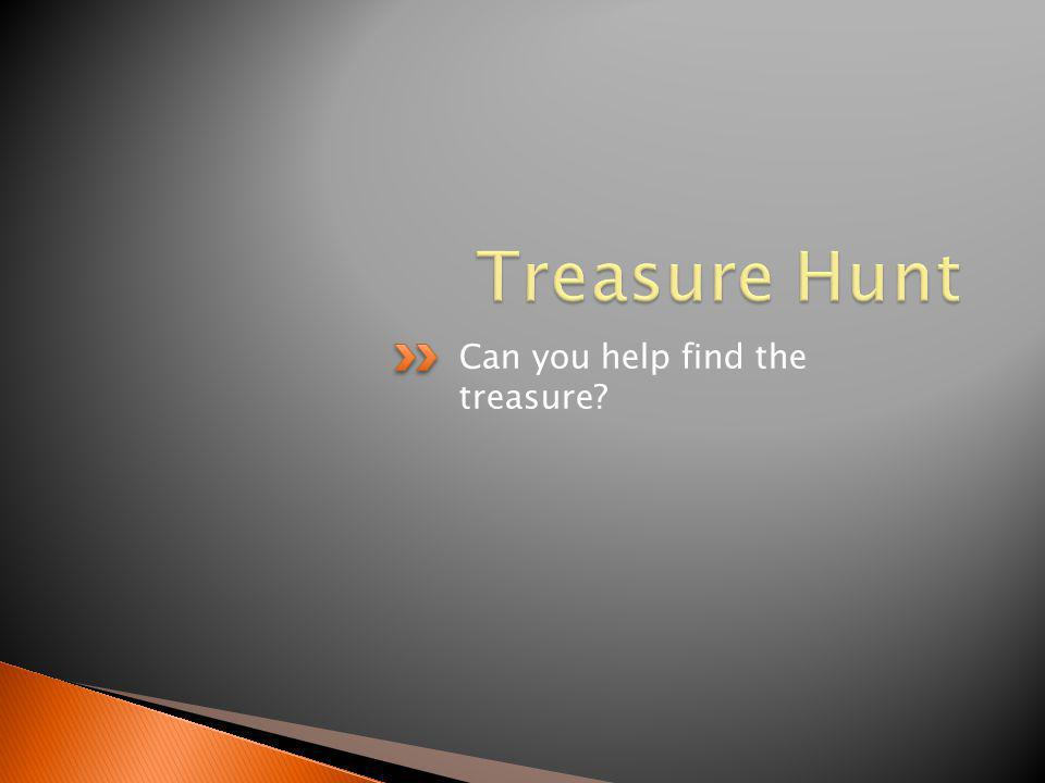 Can you help find the treasure