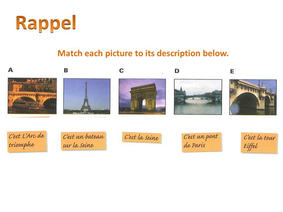 Match each picture to its description below.