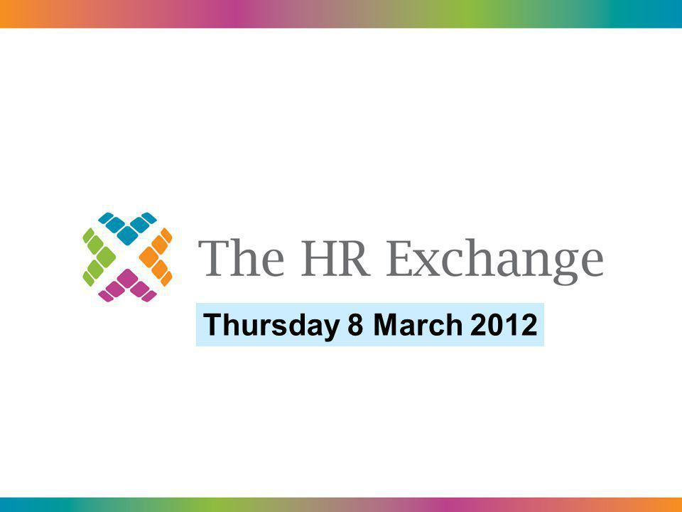 Thursday 8 March 2012
