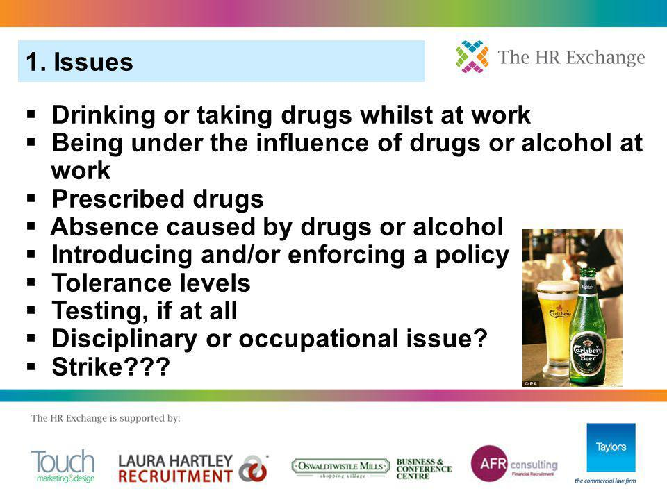 12.FAQS 1. Can an employer undertake random drug or alcohol testing of all employees.
