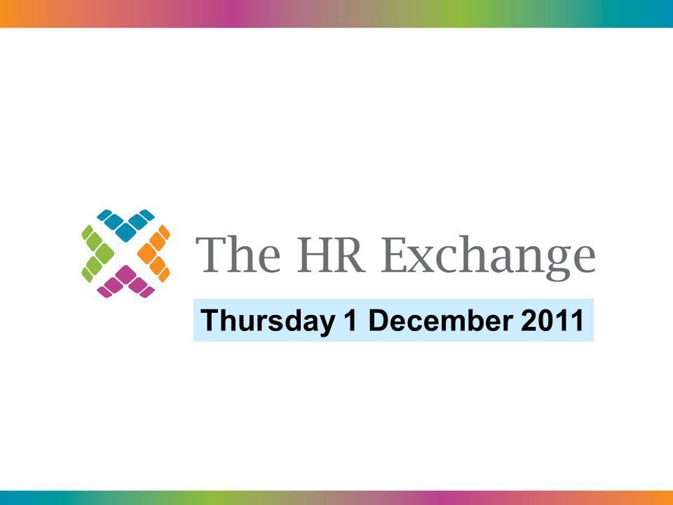 Thursday 1 December 2011