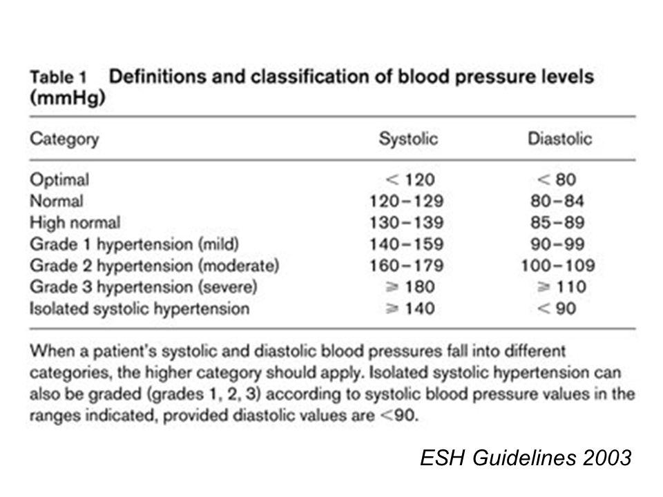 ESH Guidelines 2003