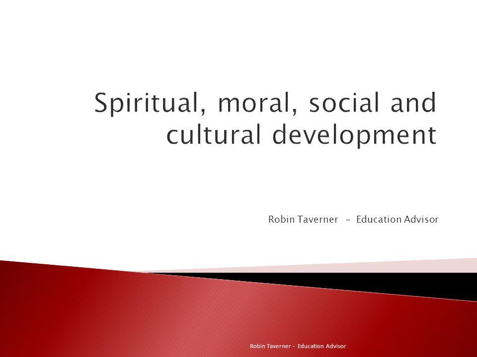 Robin Taverner - Education Advisor