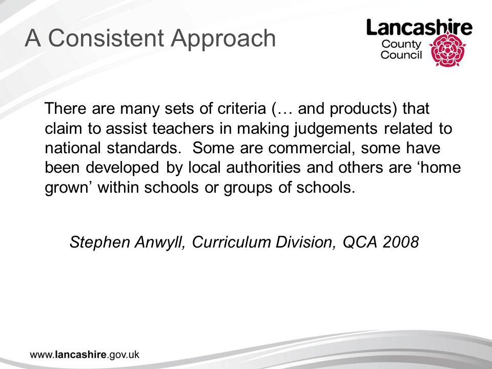In-school standardisation In-school moderation Cluster moderation SMT planning/implementation Teachers collecting evidence & making judgements CPD Implementing APP