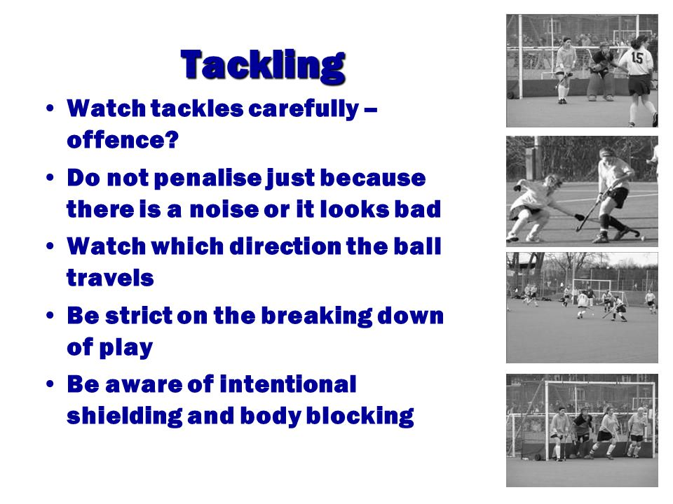 Obstruction Are the players trying to play the ball.