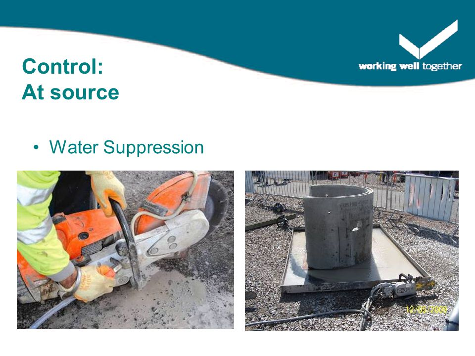 Water Suppression Control: At source