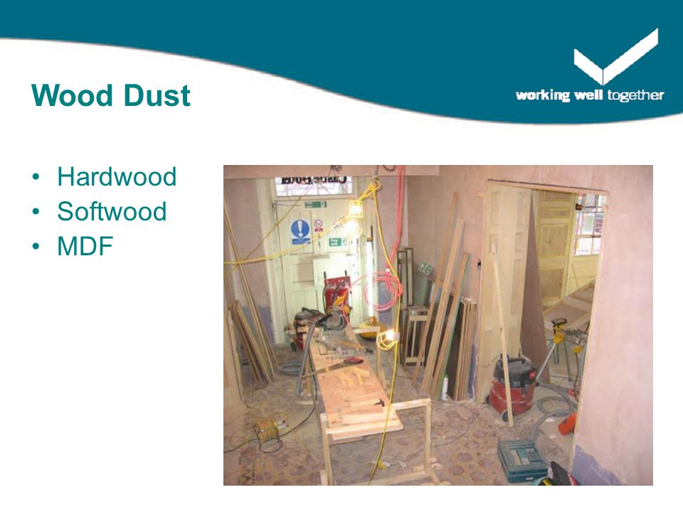 Hardwood Softwood MDF Wood Dust