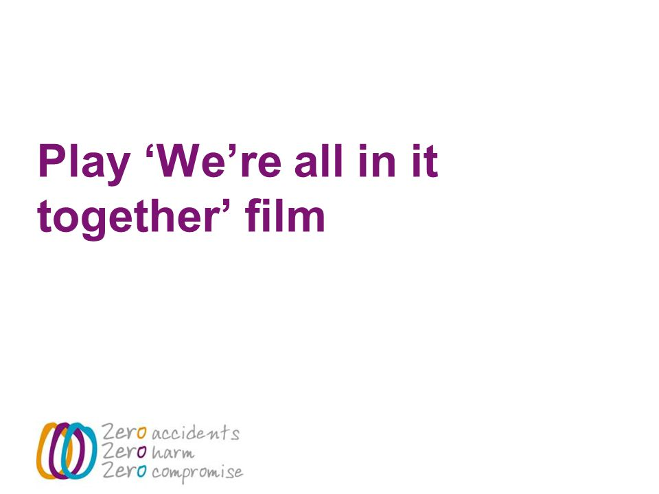 Play 'We're all in it together' film