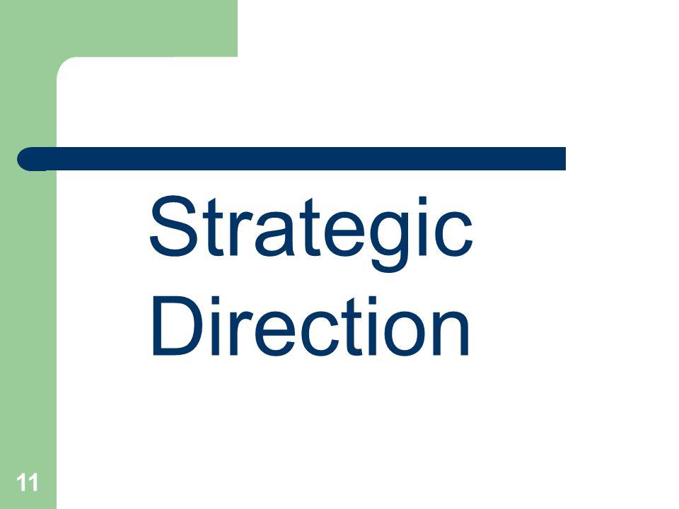 11 Strategic Direction