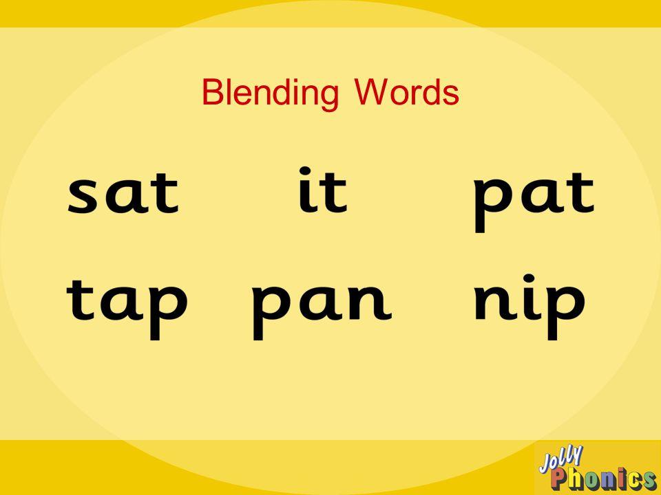 Blending Words