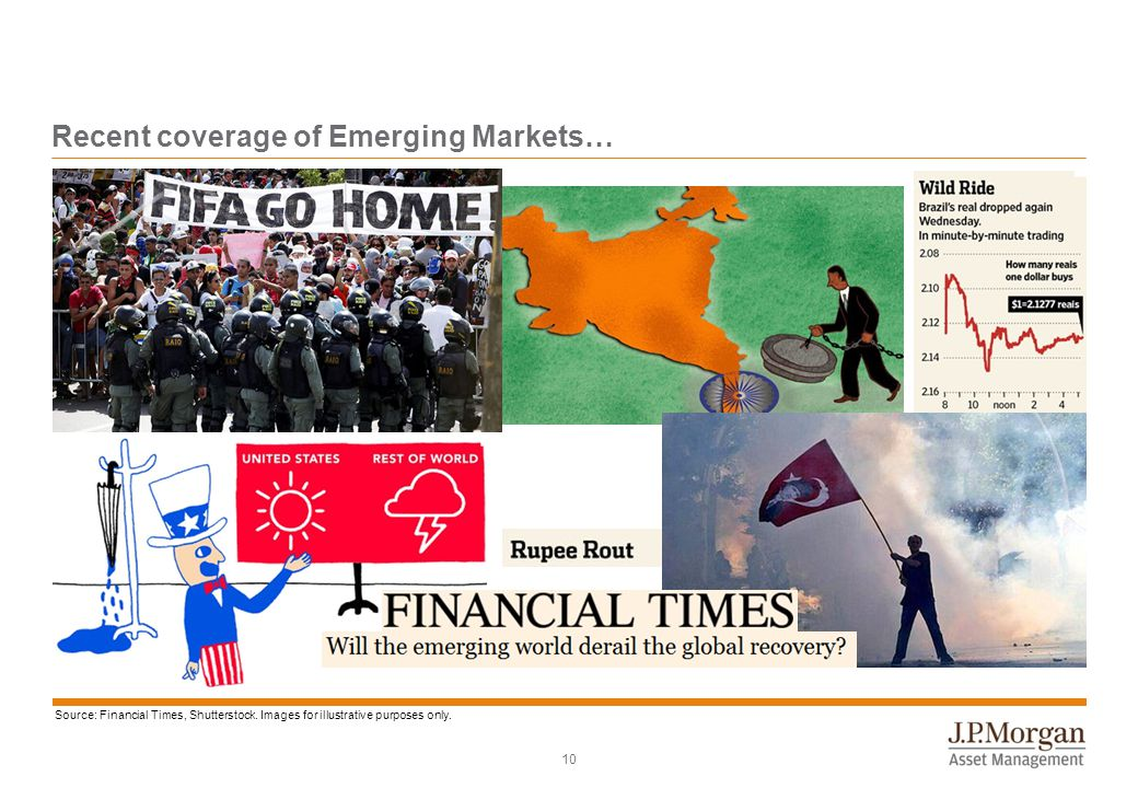 10 Recent coverage of Emerging Markets… Source: Financial Times, Shutterstock. Images for illustrative purposes only.