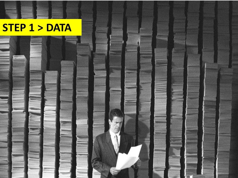 STEP 1 > DATA